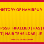 HISTORY OF HAMIRPUR