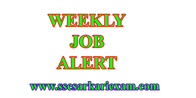 Weekly job news