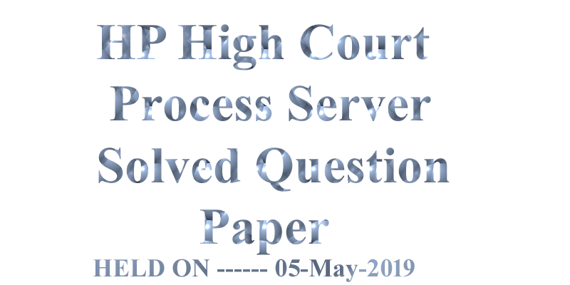 HP High Court Process Server