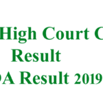 HP High Court Clerk Result And JOA Result 2019: