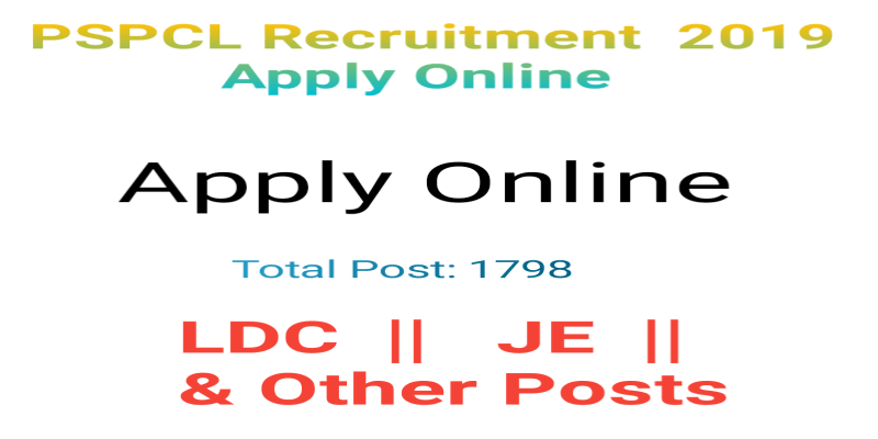 PSPCL Recruitment 2019