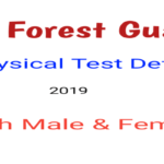 HP Forest Guard Physical Test Details 2019
