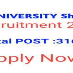HP University Recruitment 2020 Apply Online 316 Posts