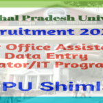 HPU Junior Office Assistant Recruitment