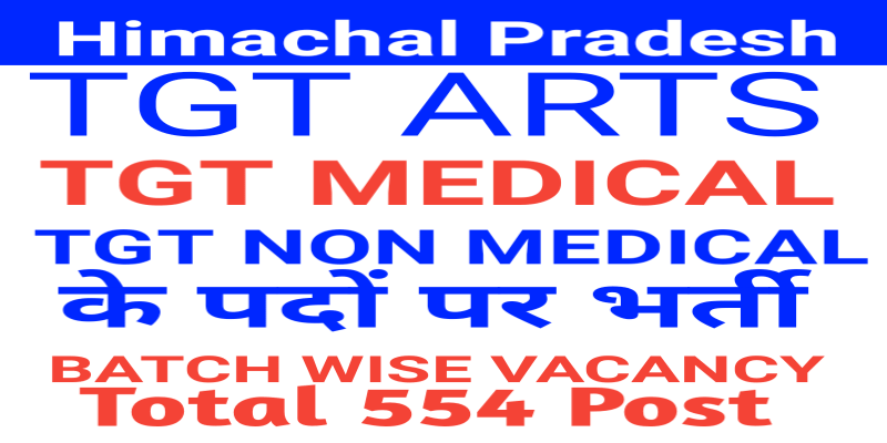 Himachal Pradesh TGT VACANCY