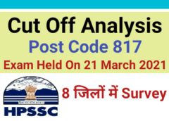 HPSSC JOA IT CUTOFF ANALYSIS POST CODE 817